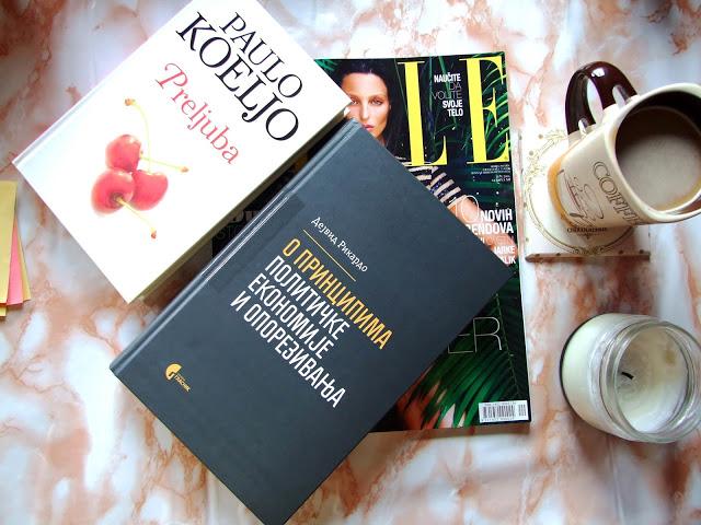 Šta čitam ovih dana - Magazini, knjige, blogovi