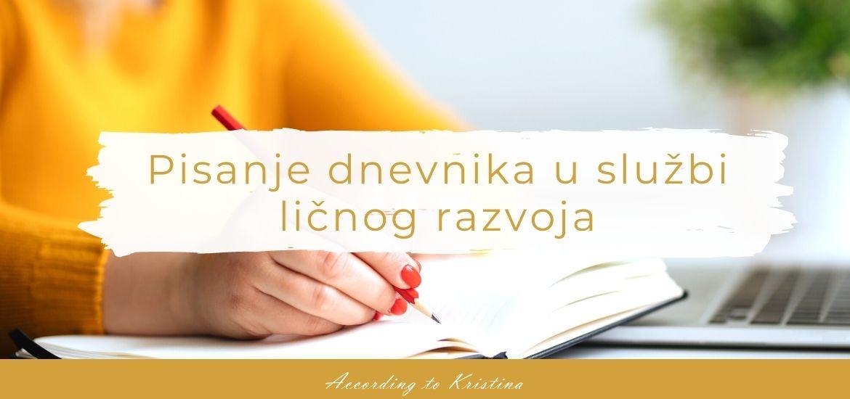 Pisanje dnevnika u službi ličnog razvoja
