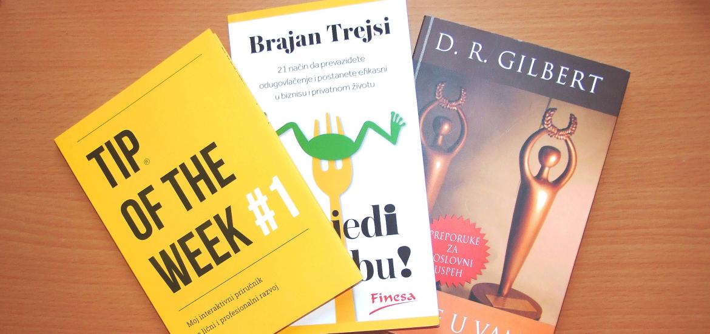 TOP 3 knjige za lični razvoj