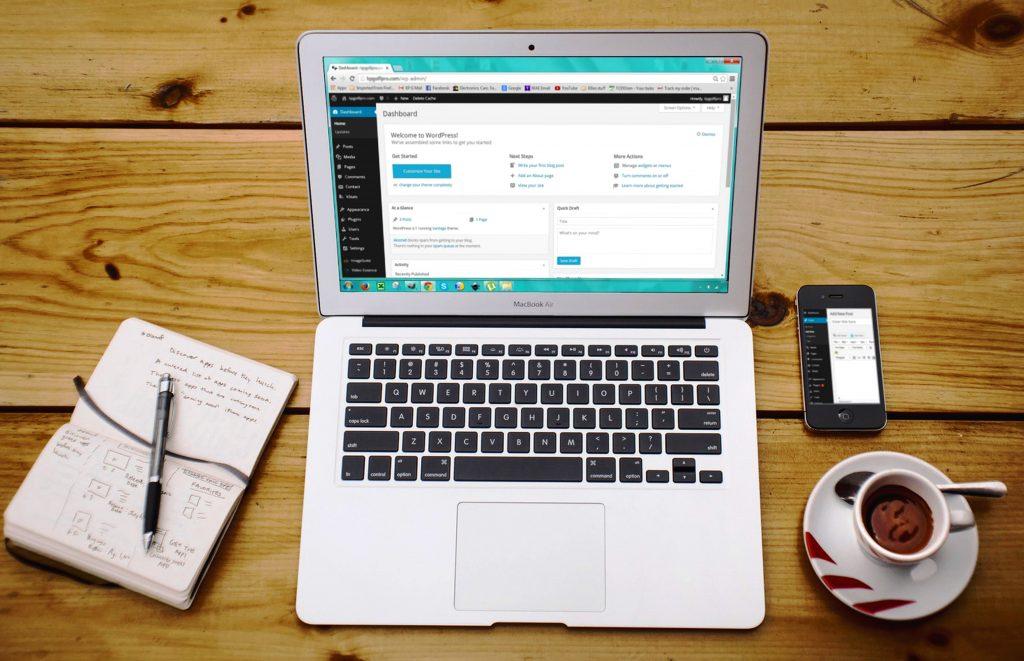 WordPress radno okruženje za administratora