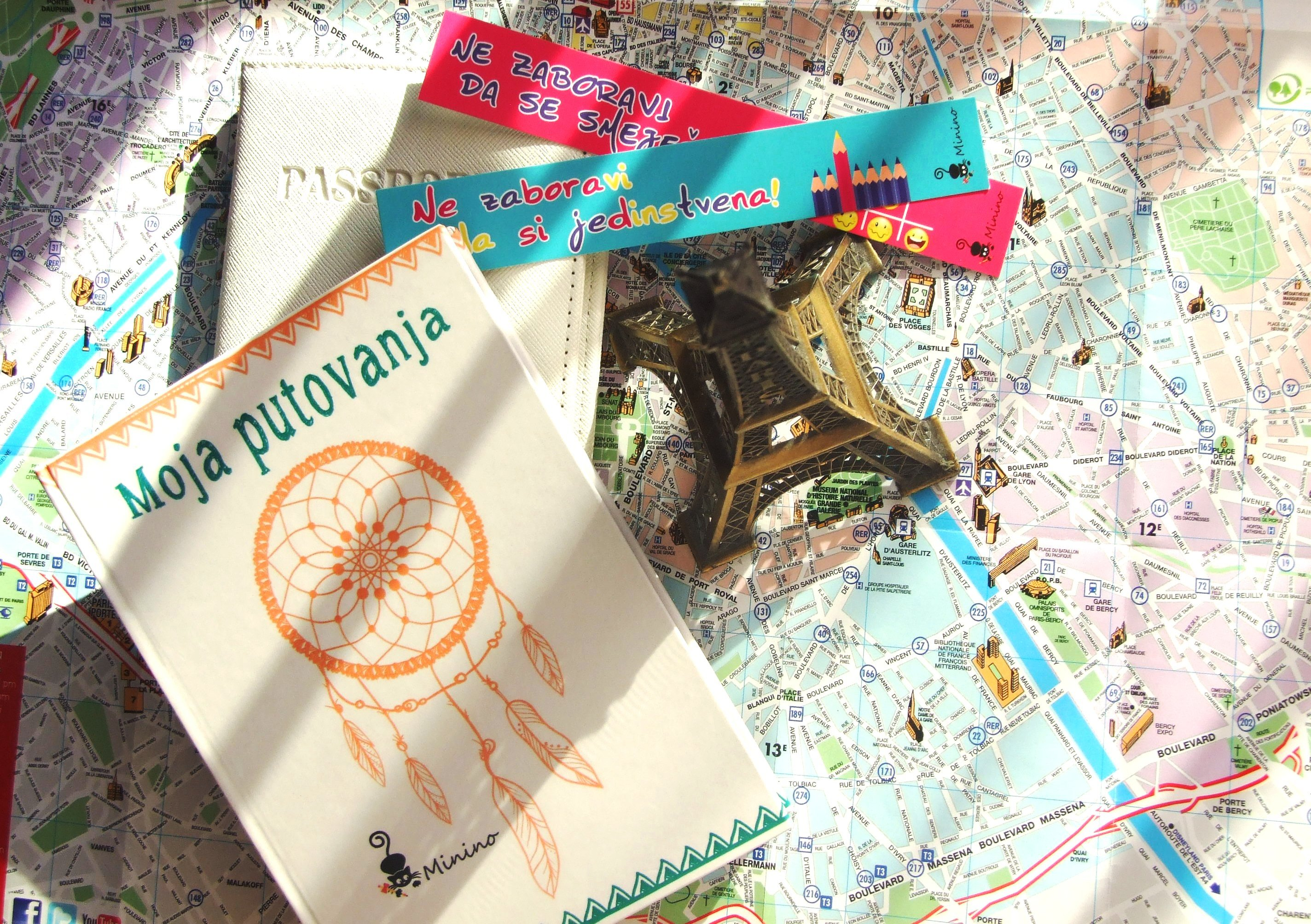 Dobar saputnik za sve destinacije: Minino planer za putovanja