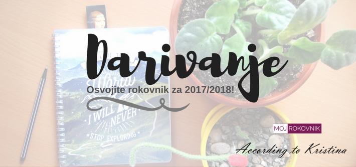 Darivanje: Osvojite rokovnik za 2017/2018! © According to Kristina