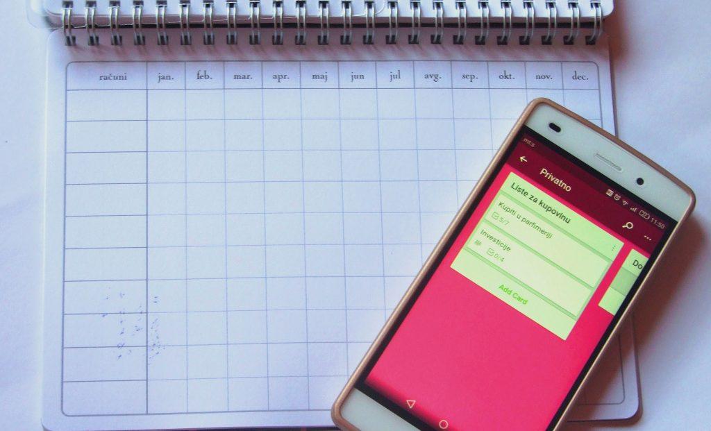 TOP 3 aplikacije za organizovanje života
