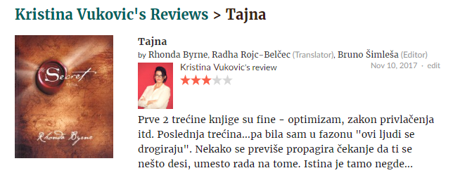 Tajna © According to Kristina