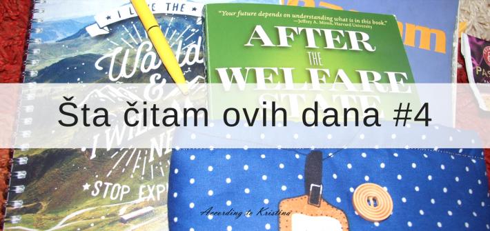 Knjige koje volim u poslednje vreme © According to Kristina