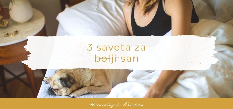 3 saveta za bolji san
