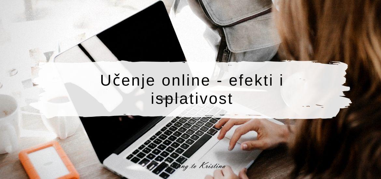 Učenje online - efekti i isplativost