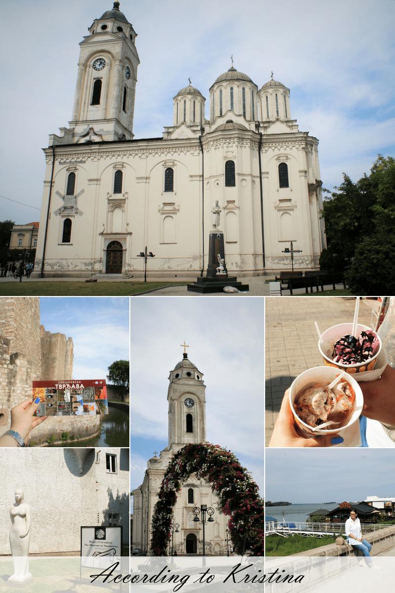 Crkva Svetog Georgija, sladoled rolnice, muzej u Smederevu, šetnja pored Dunava © According to Kristina