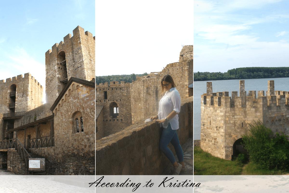 Pogled na reku - Smederevska tvrđava - Mali grad © According to Kristina