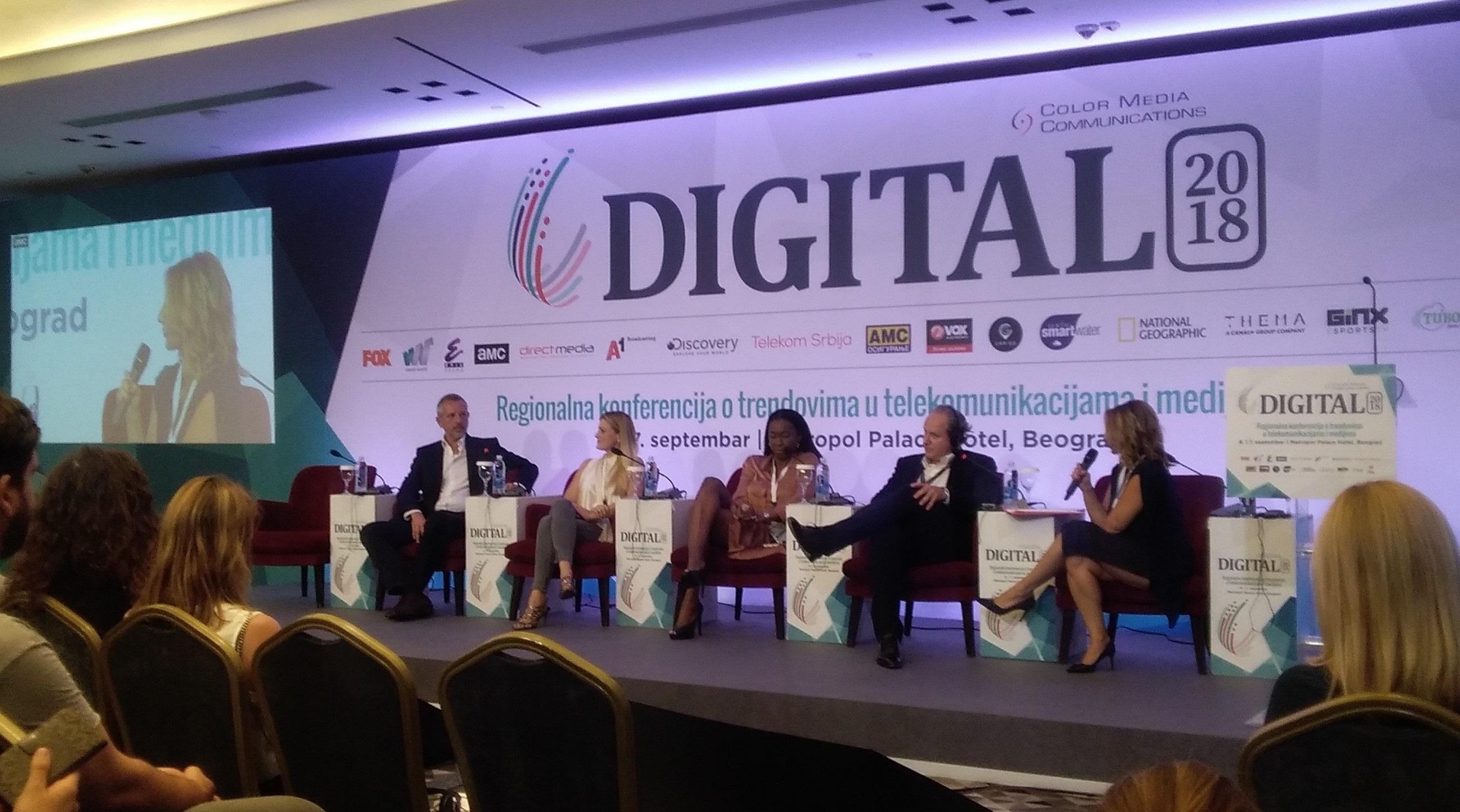Strani i domaći gosti na DIGITAL 2018 konferenciji  © According to Kristina