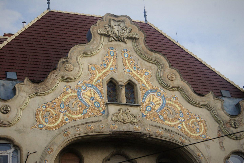 Detalji na Grofovoj palati u Segedinu © According to Kristina