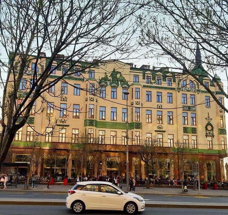 Hotel Moskva - predstavnik Ruske secesije © According to Kristina