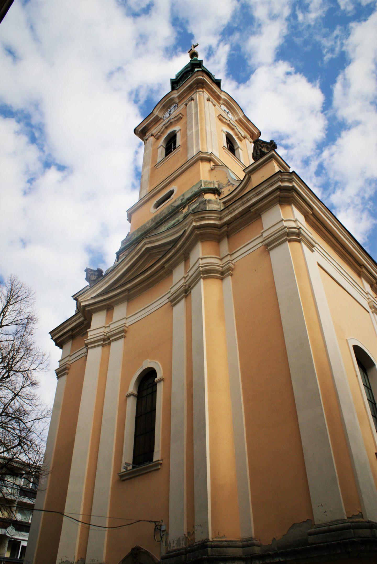 Srpska crkva u Segedinu © According to Kristina