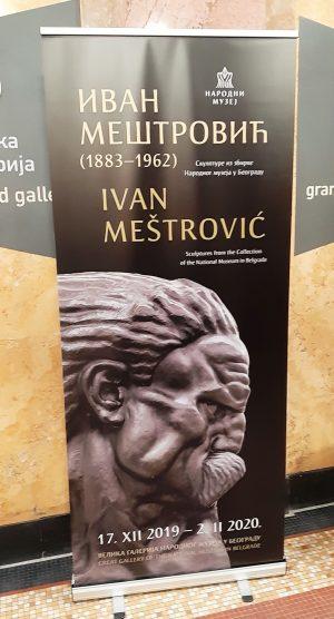 Izložba Ivan Meštrović u Narodnom muzeju © According to Kristina