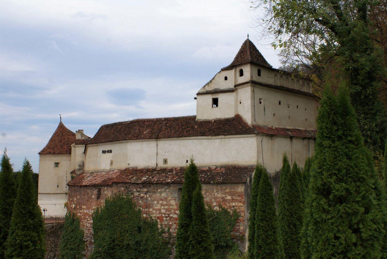 Bastion u sklopu odbrambenih zidina Brašova © According to Kristina