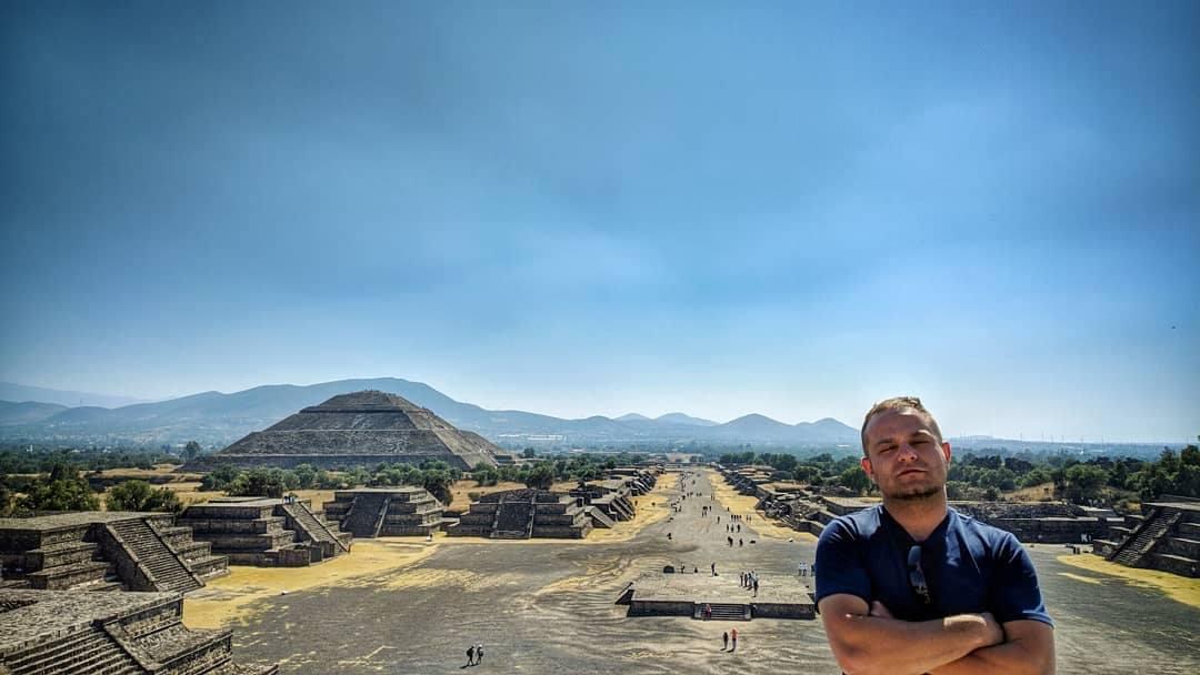 Teotihuakan, Mesečeva piramida i avenija mrtvih © Uroš Nedeljković