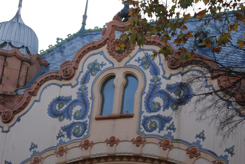Detalji na palati Rajhl © According to Kristina