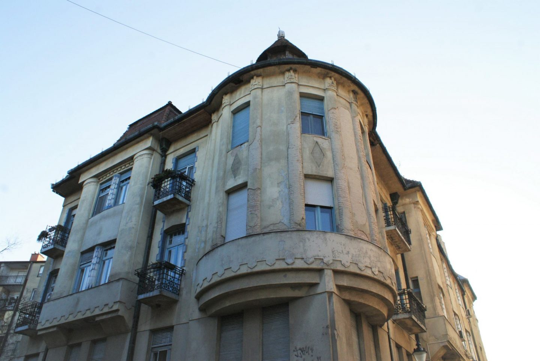 Zgrada nekadašnje najamne palate u Subotici © According to Kristina