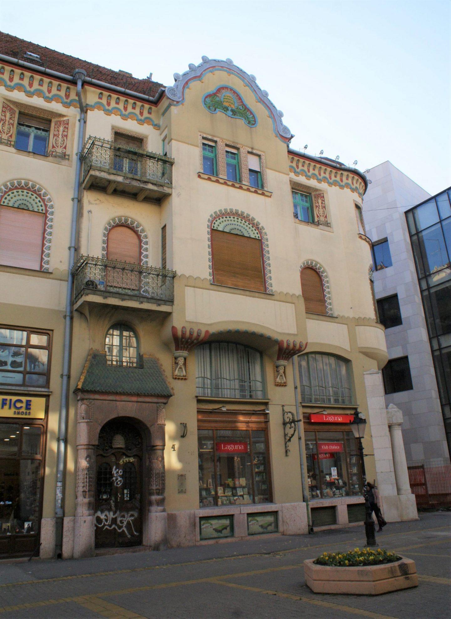 Zgrada nekadašnje štedionice u Subotici © According to Kristina