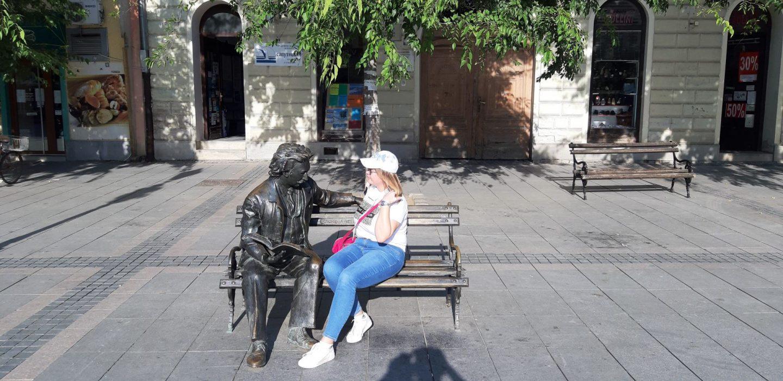 Laza Kostić i ja © According to Kristina