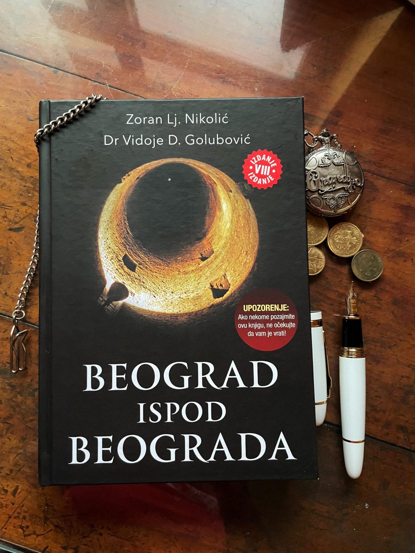 Knjiga Beograd ispod Beograda © According to Kristina